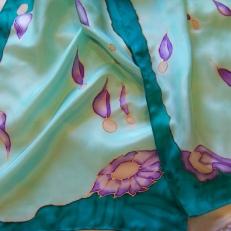 Flores en seda