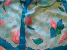 Flor en agua