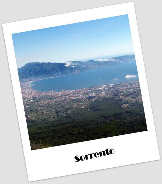 Sorrento desde el Vesubio